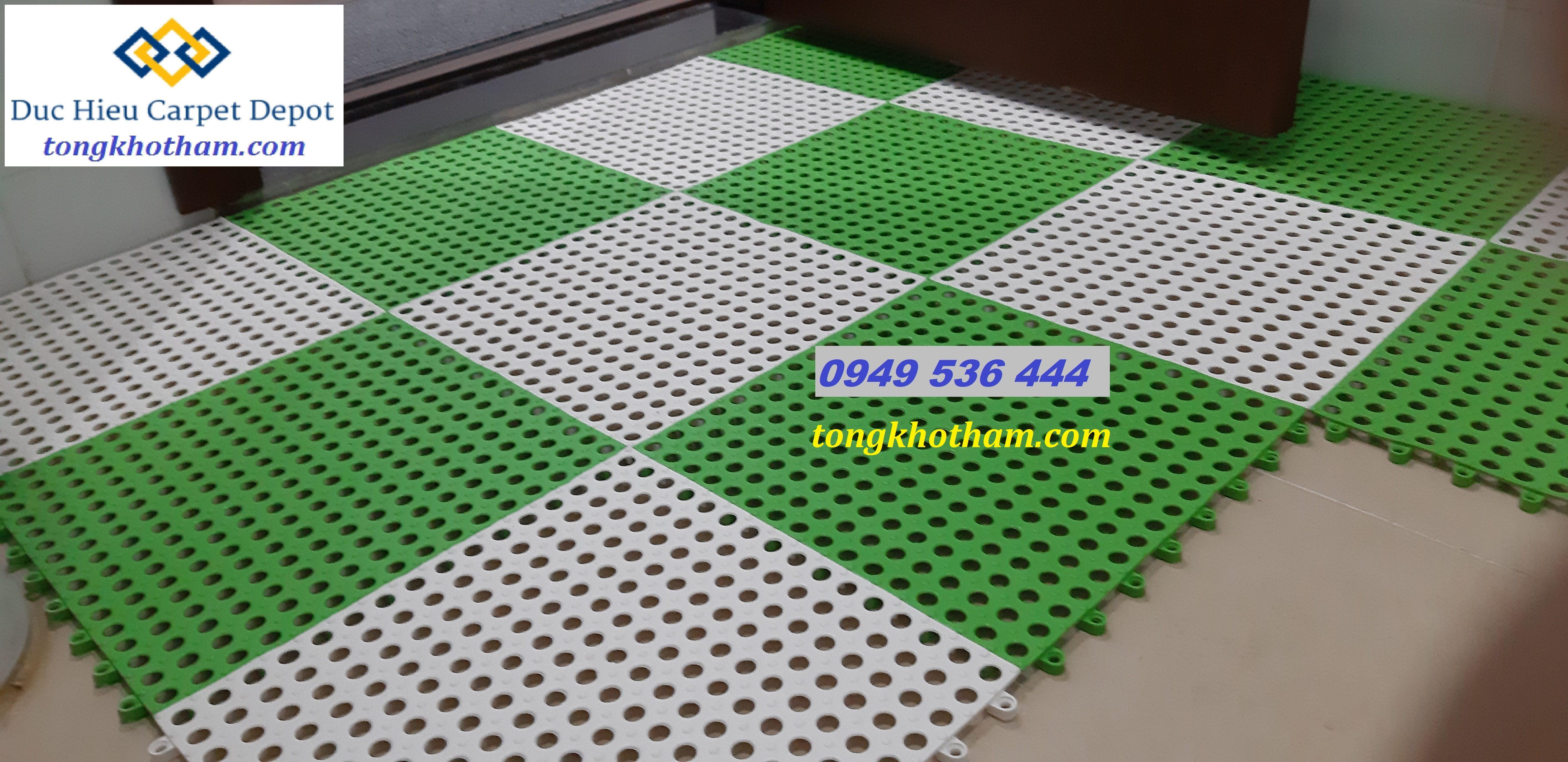Thảm nhựa ghép chống trơn