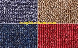 Thảm trải sàn một màu